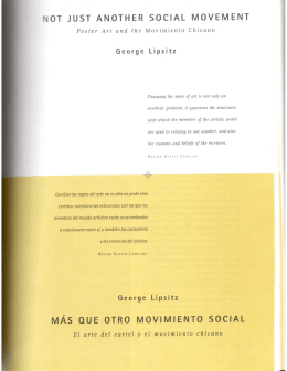 ot just another social movement mas que otro movimiento social