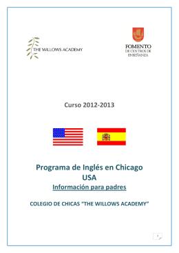 Programa de Inglés en Chicago USA