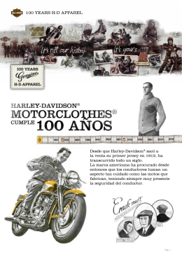 100 YEARS H-D APPAREL - Harley