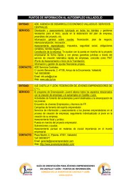 valladolid - Consejo de la Juventud de Castilla y León