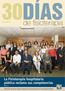 Lea nuestro último boletín 30 Días de Fisioterapia