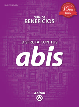 BENEFICIOS - Abitab Familia
