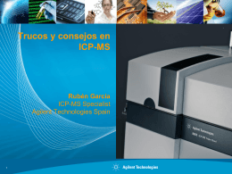 en ICP-MS - Agilent Technologies