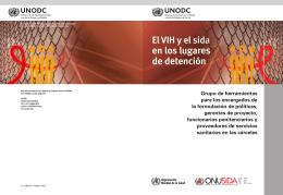 El VIH y el sida en los lugares de detención