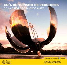 guía de turismo de reuniones - turismo de la Ciudad de Buenos Aires