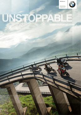 BMW Motorrad 2013 Collection Programma 2013 Programa 2013