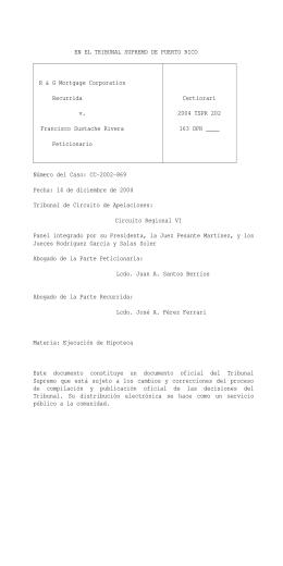 2004 TSPR 202 - Rama Judicial