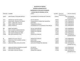 Planilla Actualizada a Diciembre 2014