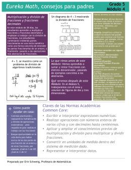 Eureka Math, consejos para padres