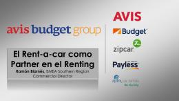 AvisBudget - Asociación Española de Renting de Vehículos
