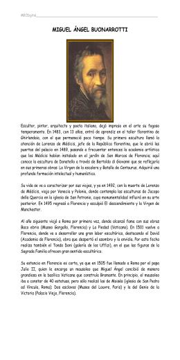 PDF Miguel Ángel Buonarrotti