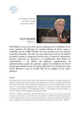PAUL WALKER (EE.UU.) - Right Livelihood Award