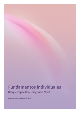 Fundamentos individuales