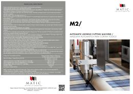 automatic awning cutting machine / máquina automática para cortar