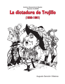 vol 183. La dictadura de Trujillo (1930-1961).