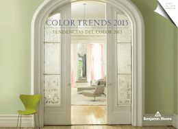 COLOR TRENDS 2015 - Gotham Organization
