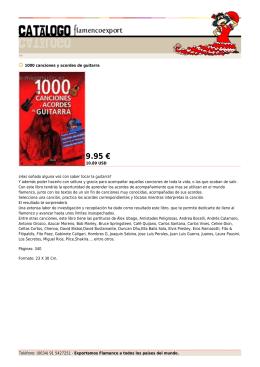 9.95 € - Flamenco Export