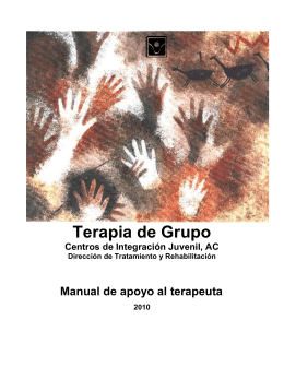 Terapia de Grupo - Centros de Integración Juvenil