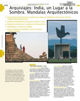 Arquiviajes: India, un Lugar a la Sombra. Mandalas Arquitectónicos