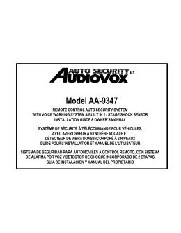 Model AA-9347