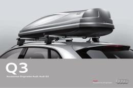 Accesorios Originales Audi: Audi Q3
