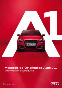 Accesorios Originales Audi A1