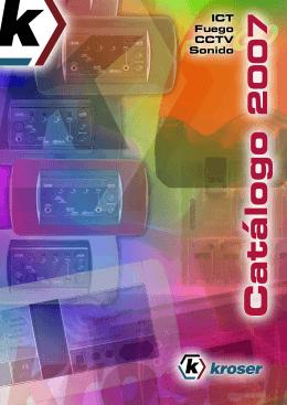 Catálogo 2007 - Kroser Electrónica
