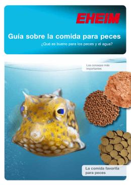 Guía sobre la comida para peces