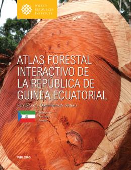 atlas forestal interactivo de la república de guinea ecuatorial