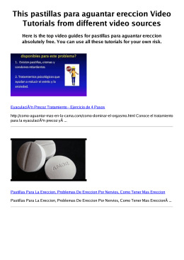 #Z pastillas para aguantar ereccion PDF video books