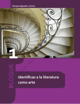 Literatura I - Bachilleres Río Blanco