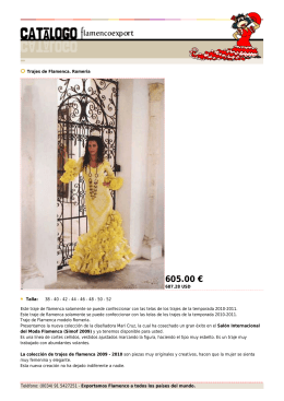 605.00 € - Flamenco Export