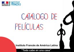 catálogo de películas - Embajada de Francia en México