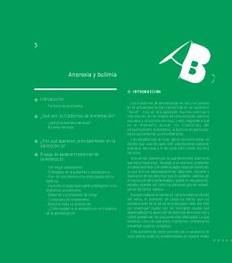 5 Anorexia y bulimia