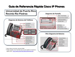 Guía de Referencia Rápida - Universidad de Puerto Rico, Recinto