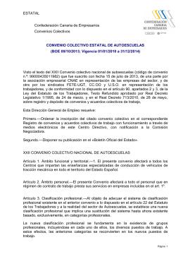 convenio colectivo estatal de autoescuelas (boe 09-10