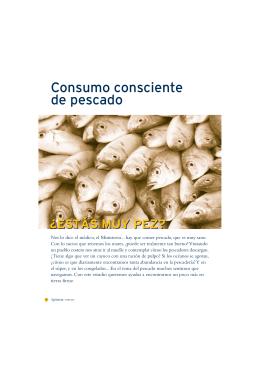 Consumo consciente de pescado