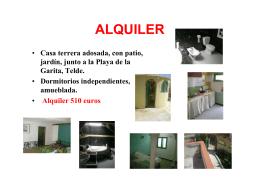 Casa Terrera Adosada En La Garita (Telde)