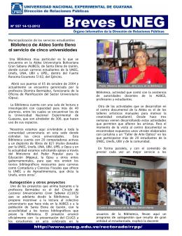 Biblioteca de Aldea Santa Elena al servicio de cinco