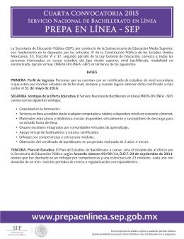 www.prepaenlinea.sep.gob.mx - Secretaría de Educación Pública
