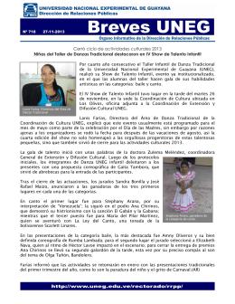 Cerró ciclo de actividades culturales 2013 Niñas del Taller