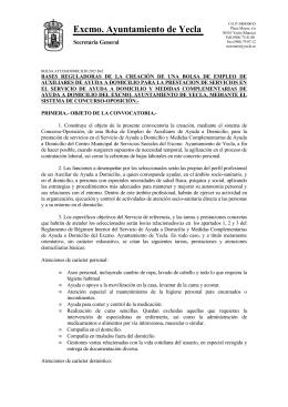 Excmo. Ayuntamiento de Yecla