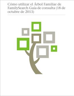 Cómo utilizar el Árbol Familiar de FamilySearch Guía de consulta