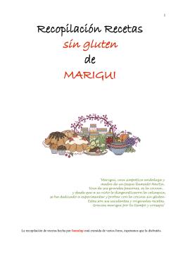 Recetario MARIGUI - celiacOnline.org