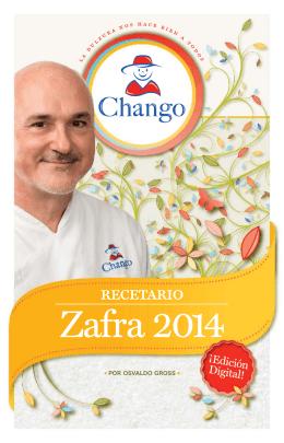 A Recetario Chango2014