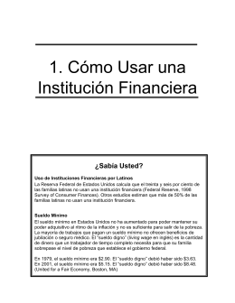 Unidad 1 - Latino Community Credit Union