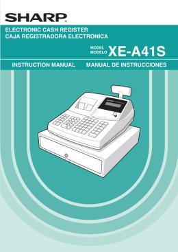 XE-A41S - Sharp