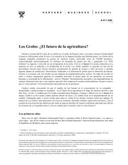 Español - Los Grobo Agropecuaria