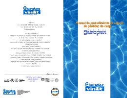 Manual de procedimiento de cálculo de pérdidas de carga Manual