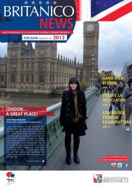 LONDON… A GREAT PLACE! LO